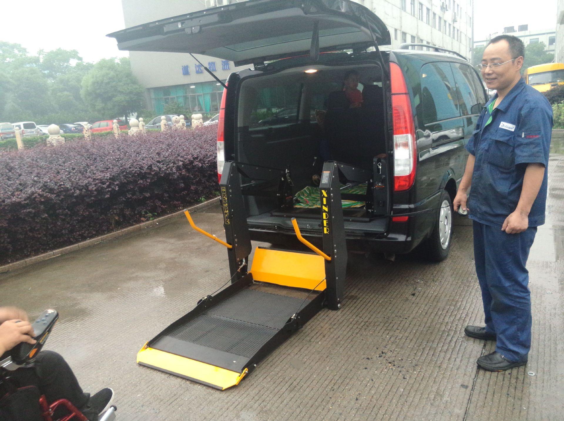 车载轮椅升降机WL-D型