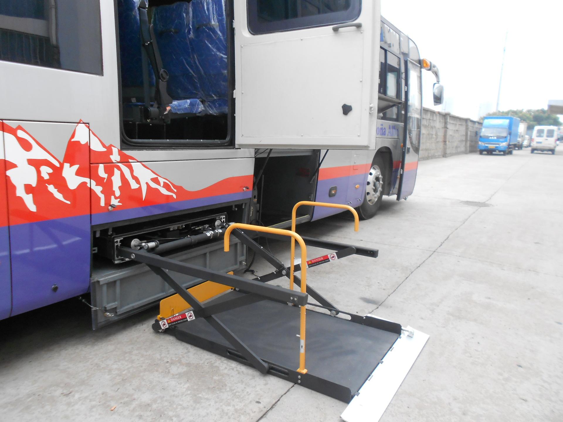 车载WL-UVL型轮椅升降机