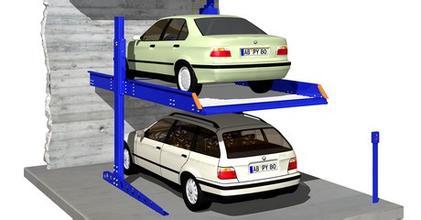 两柱式停车设备