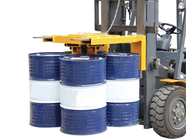 四桶专用油桶夹具