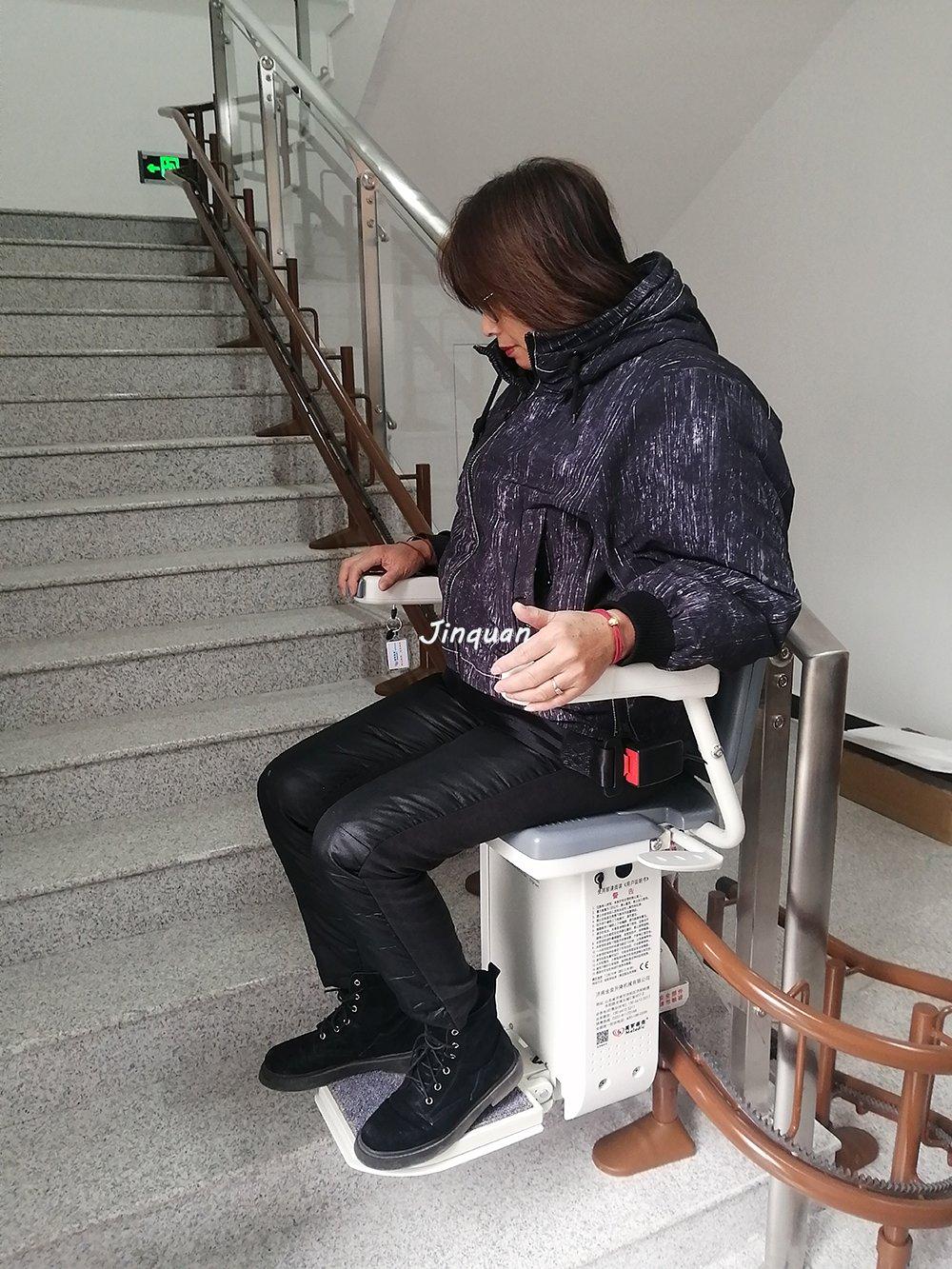 <b>济南养老院安装斜挂座椅电梯</b>