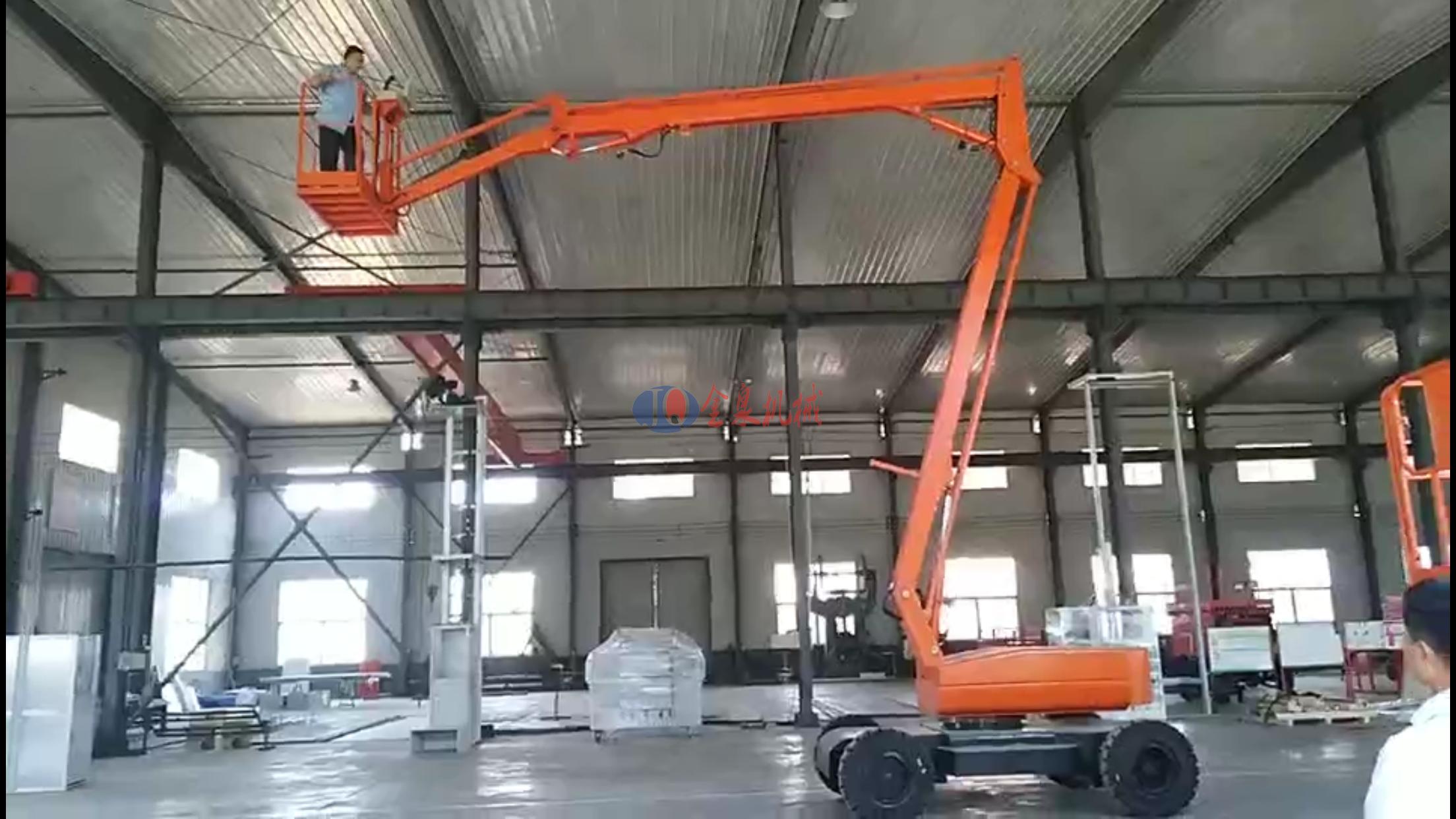 江苏经济开发区订购14米自行曲臂升降机