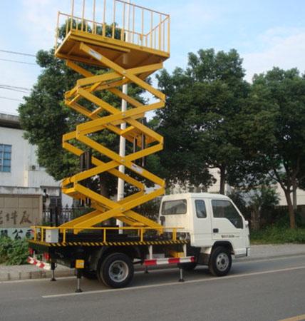 维修车载式升降机