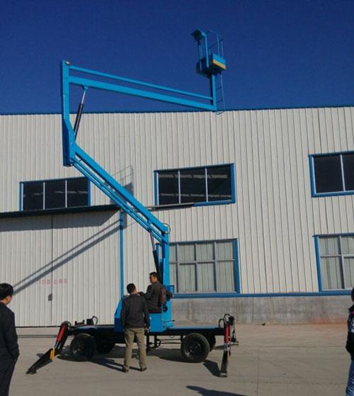 高空曲臂式升降机