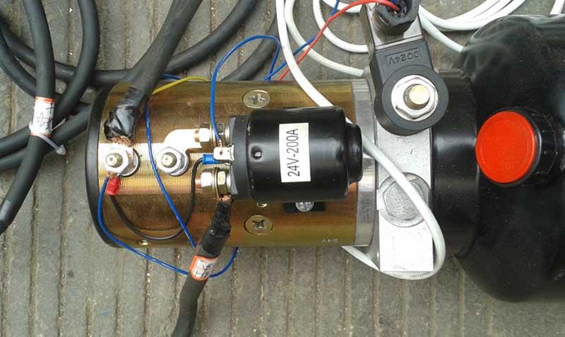 升降机专用电动泵站